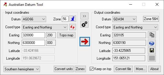Map Grid Of Australia Zone 50.Australian Datum Tool Binaryearth